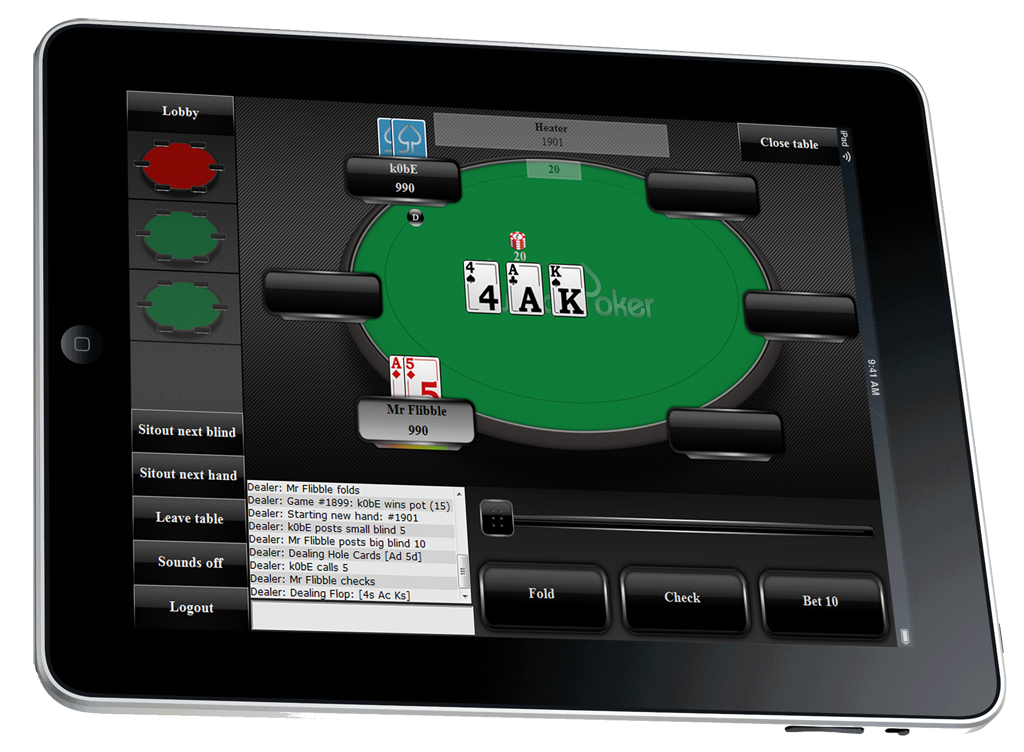 Best iPhone Online Poker Apps