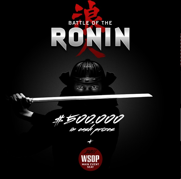 Battle of the Ronin at Lock Poker Now for $500K & WSOP Seat