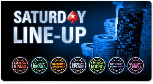 Poker Stars Beefs Up Saturday Line-up