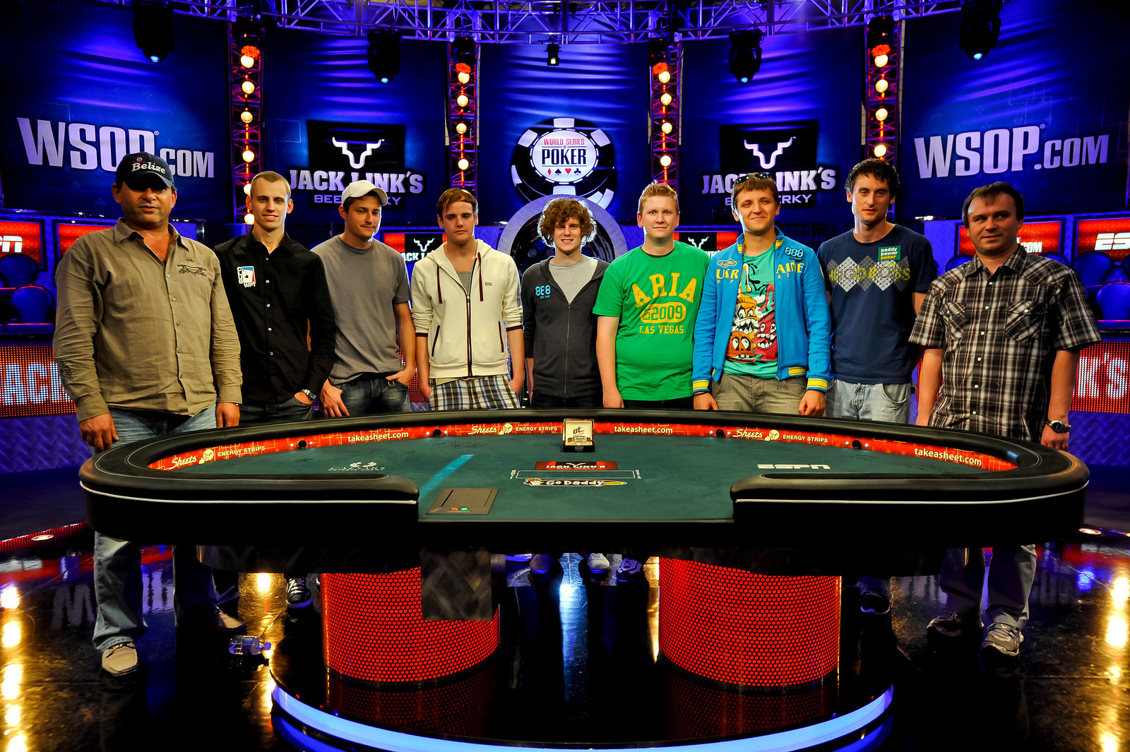 wsop final table