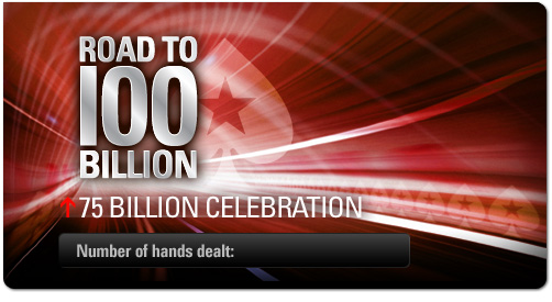 Poker Stars Celebrates 75th Billionth Hand