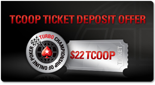 Poker Stars Presents TCOOP Ticket Deposit Offer