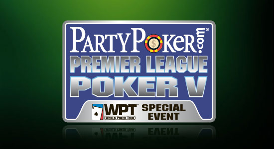 Qualify Now for Party Poker Premier League Poker 5