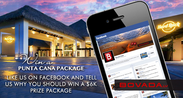 Bovada Poker Adds Social Media Promo To Punta Cana Possibilities